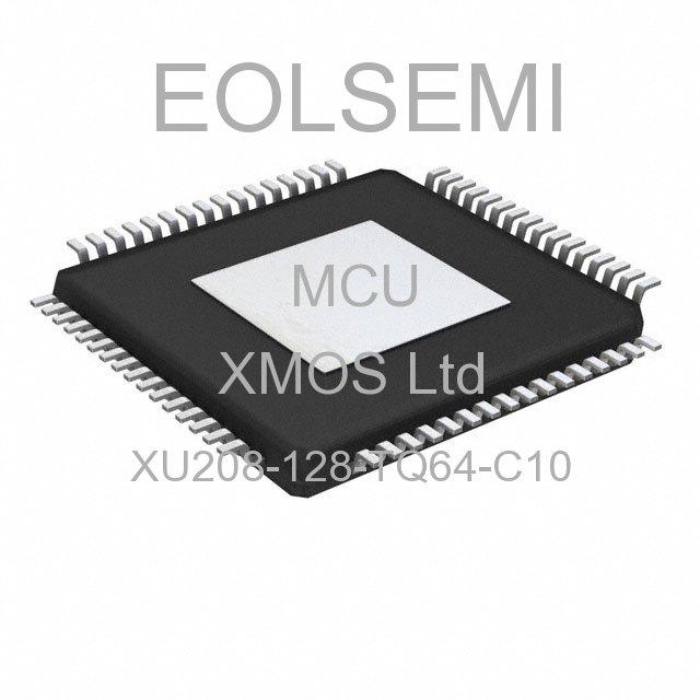 XU208-128-TQ64-C10 - XMOS Ltd