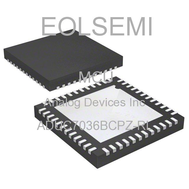 ADUC7036BCPZ-RL - Analog Devices Inc