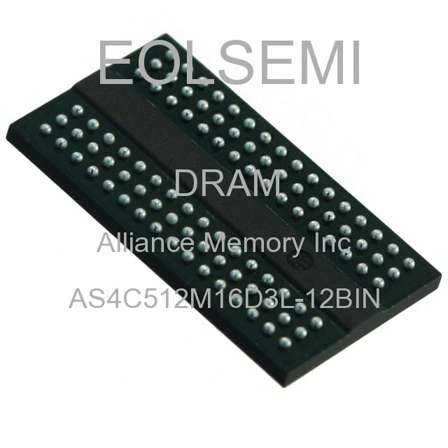 AS4C512M16D3L-12BIN - Alliance Memory Inc -