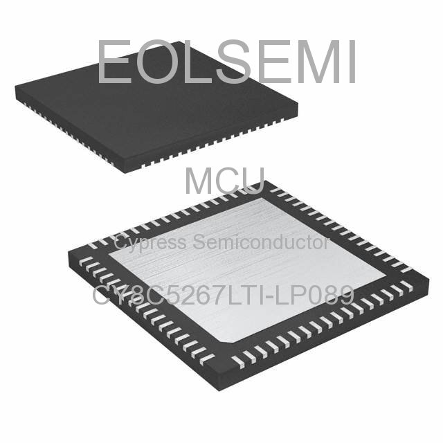 CY8C5267LTI-LP089 - Cypress Semiconductor