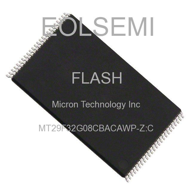 MT29F32G08CBACAWP-Z:C - Micron Technology Inc