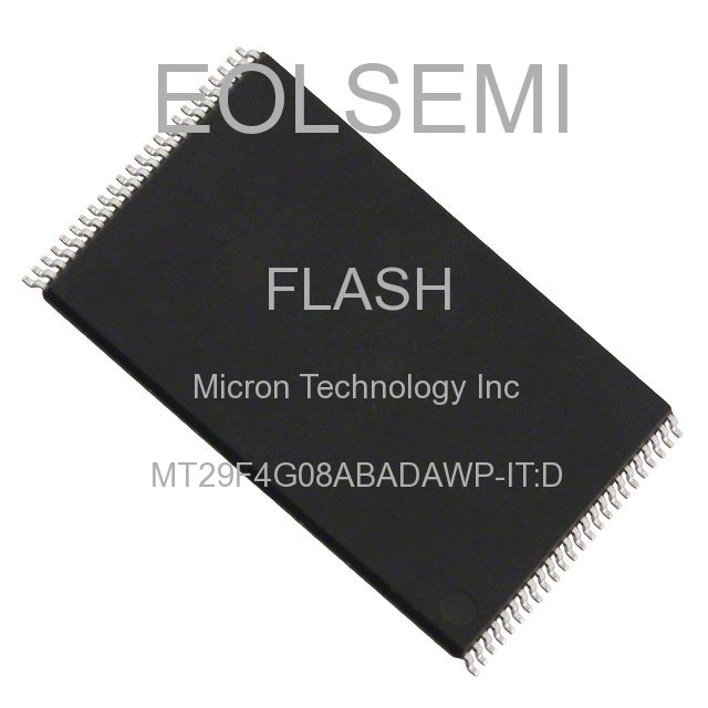 MT29F4G08ABADAWP-IT:D - Micron Technology Inc