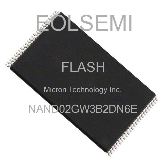 NAND02GW3B2DN6E - Micron Technology Inc.